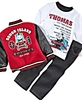 Nannette Baby Outfit, Boys Thomas the Train Jacket, Jeans a